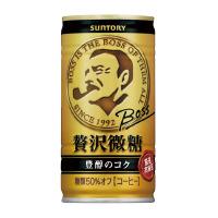 【サントリー】 BOSS 贅沢微糖 185g×30缶 FBZ3F 入数:1 ★お得な10個パック★