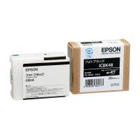 【エプソン】 インクカートリッジICBK48 フォトブラックICBK48 入数:1 ★お得な10個パック