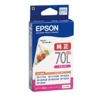 【エプソン】 エプソン対応純正インクカートリッジ ICM70L ICM70L 入数:1 ★お得な10個パック★