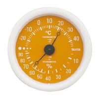 【タニタ】 アナログ温湿度計 壁掛け式 オレンジ TT-515OR 入数:1 ★お得な10個パック★