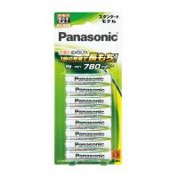 【Panasonic】 充電式EVOLTA スタンダードモデル 単4形 8本BK-4MLE/8B 入数:1 ★お得な10個パック