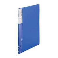 【iimo】 クリヤーブック A4縦 10ポケット 青 10冊 EM-RA550BX10 入数:1 ★お得な10個パック★