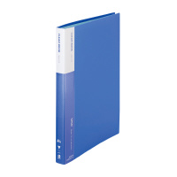 【iimo】 クリヤーブック A4縦 40ポケット 青 6冊 EM-RA570BX6 入数:1 ★お得な10個パック★
