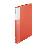【iimo】 クリヤーブック A4縦 40ポケット 赤 6冊 EM-RA570RX6 入数:1 ★お得な10個パック★