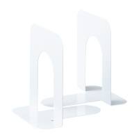 【iimo】 ブックエンド Sサイズ ホワイト 1組2枚×5組入EM-BS33WX5 入数:1 ★お得な10個パック