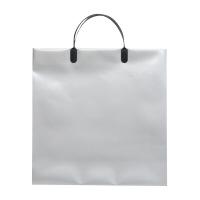 【マツシロ】 無地ビニールバッグ M シルバー 350×340×120 475240 入数:1 ★お得な10個パック★