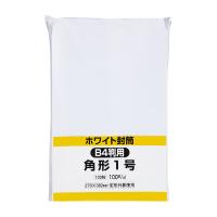 【キングコーポレーション】 ケント封筒 角1 100g/m2 100枚K1W100 入数:1 ★お得な10個パック