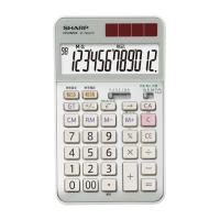 【シャープ】 抗菌電卓 EL-N942CX 12桁 EL-N942CX 入数:1 ★お得な10個パック★