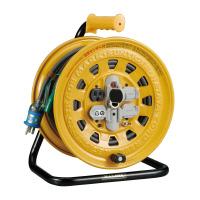 【ハタヤリミテッド】 温度センサー付コードリール 定格電流100V・5A BG-301KXS 入数:1 ★お得な10個パック★