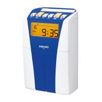【アマノ】 タイムレコーダー CRX-200 ブルー 月毎集計なし CRX-200-BU 入数:1 ★お得な10個パック★