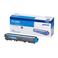 【ブラザー】 ブラザー対応純正トナーカートリッジ TN-296C (シアン)大容量TN-296C 入数:1 ★お得な10個パック