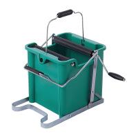 【テラモト】 モップ絞り器B型 手回しタイプ 緑 CE-441-400-0 入数:1 ★お得な10個パック★
