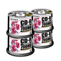 【三菱ケミカルメディア】 データ用CD-R 50枚×4(スピンドルケース)IJP対応 SR80PP50C 入数:1 ★お得な10個パック★