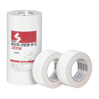 【積水化学工業】 クラフトテープ No.500 5巻入り 白 幅50mm×長さ50m K500W03 入数:1 ★お得な10個パック★
