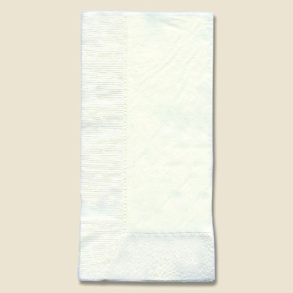二枚重ねの高級紙ナプキンです 35%OFF 2プライナプキン 白 驚きの価格が実現