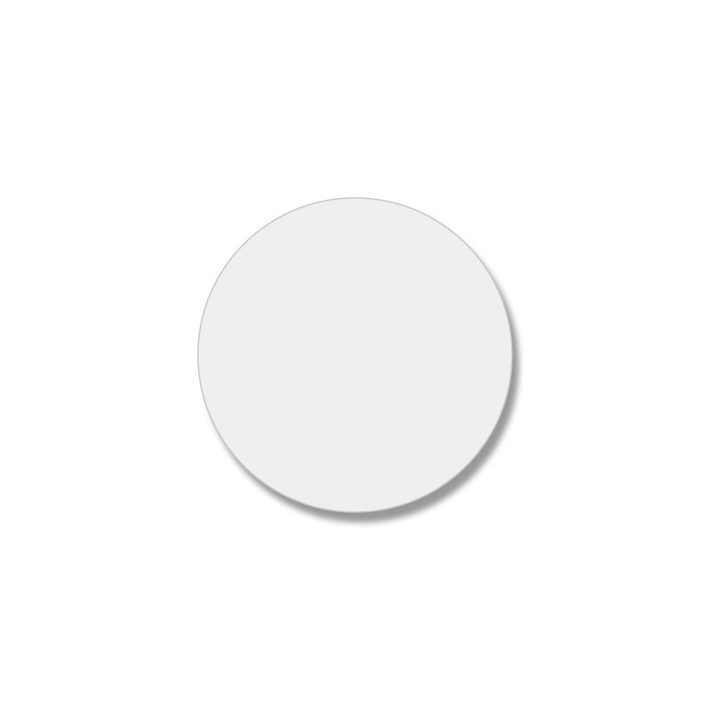 カラーシール ボタンシール カラーラベル カラータックラベル HEIKO 22×22 タックラベル No.391 送料無料(一部地域を除く) OUTLET SALE 透明無地 108片