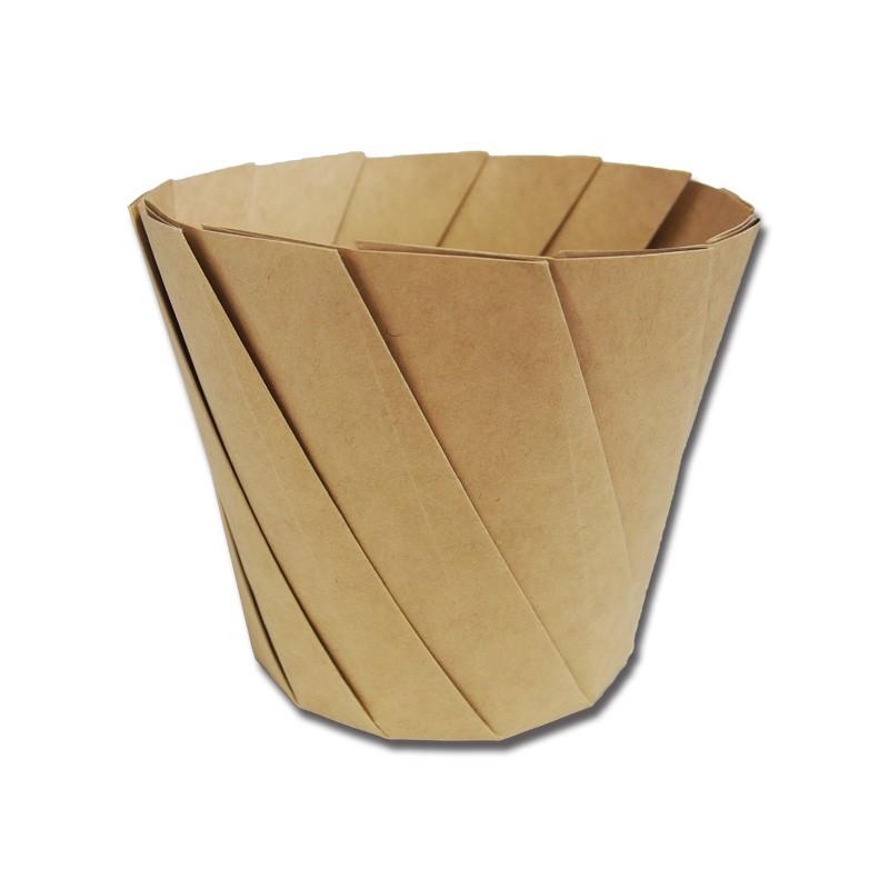 おりがみコップ 折り紙カップ ご注文で当日配送 折紙カップ シンメイ おりがみカップ 今だけスーパーセール限定 茶 20個 大