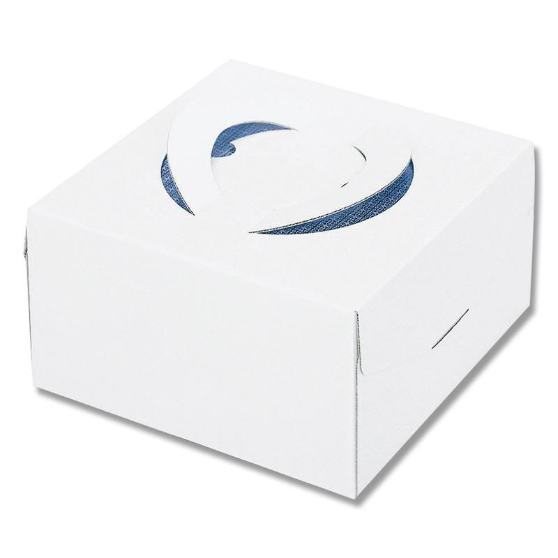 ケーキ箱 アウトレット デコ箱 ホールケーキ 4901755010848 キャリーデコ箱 トレー付き ホワイト 6号 1枚 150 おすすめ