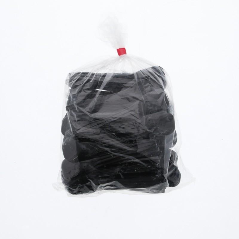 すぷーん プラスチックスプーン ブラック 使い捨て アイススプーン 日本メーカー新品 100本入り 高級 黒 120 バラ