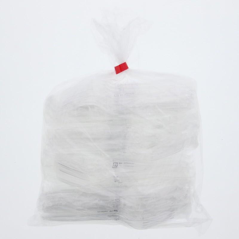 プラスチックフォーク 個包装 クリア 使い捨て 新色 フォーク 160 単袋 100本入り 透明 ディスカウント