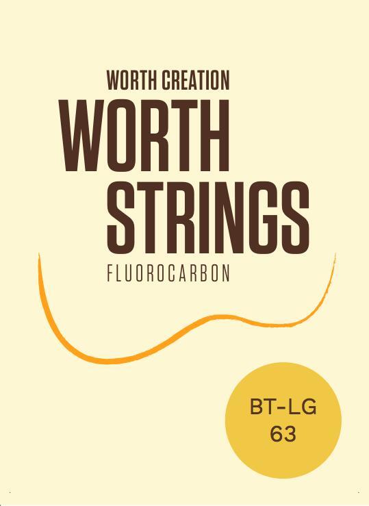 <純100%フロロカーボン製>標準的な太さのミディアムタイプのLow-Gセットテナーサイズ用 ウクレレ弦 Worth 年中無休 Tenor Brown Low-Gセット 送料無料 激安 お買い得 キ゛フト