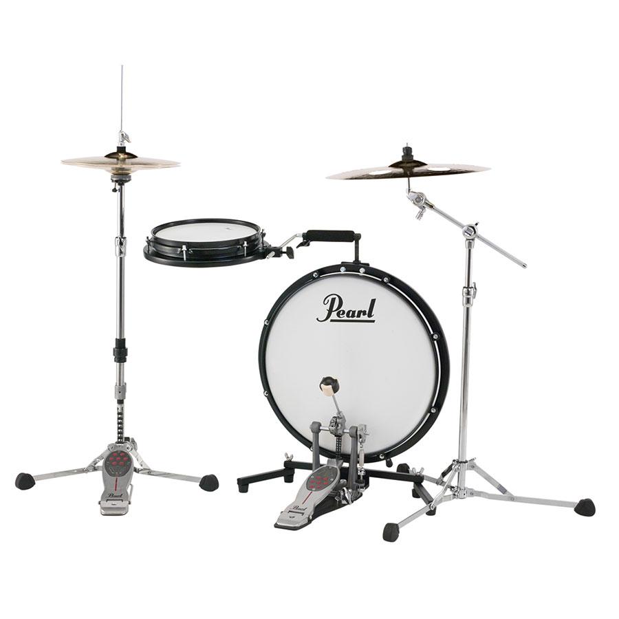 Pearl 薄型ドラム【コンパクト・トラベラー】PCTK-1810BG専用ケース付