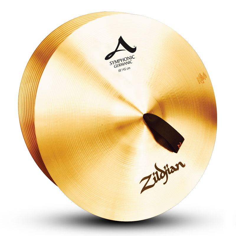 Zildjian 【A Zildjian】 18インチ・シンフォニック・ジャーマニックトーン 1セット