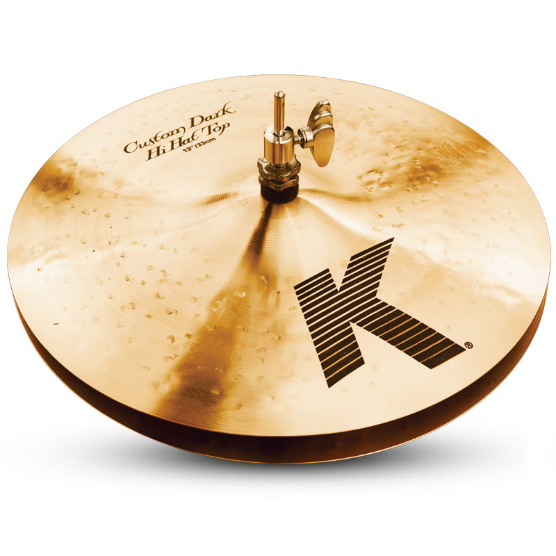Zildjian 【K Custom】 Dark HiHats 13インチ