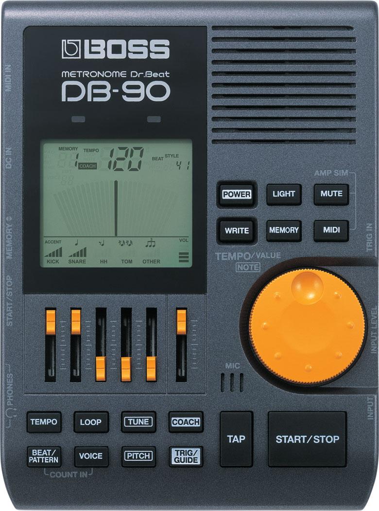 【電子メトロノーム】 BOSS DB-90 Dr. Beat