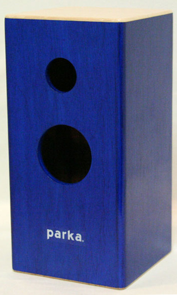 parka 【小型リバーブ木製パーカッション】SQ101R-BL(青)