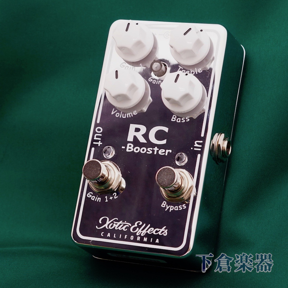 Xotic RC BoosterV2(RCB-V2)エキゾチック