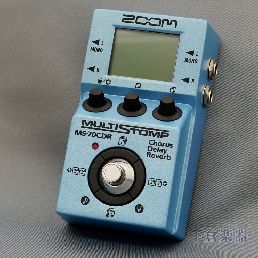 ZOOM MS-70CDR MultiStomp Chorus / Delay / Reverb Pedal(ズーム 空間系 マルチストンプ)