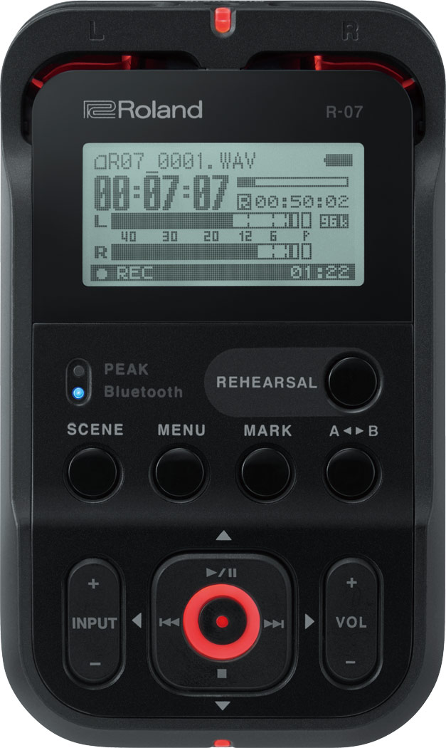 Roland R-07- High Resolution Audio Recorder