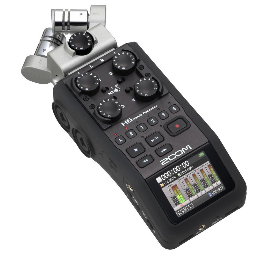 ZOOM ハンディレコーダー H6