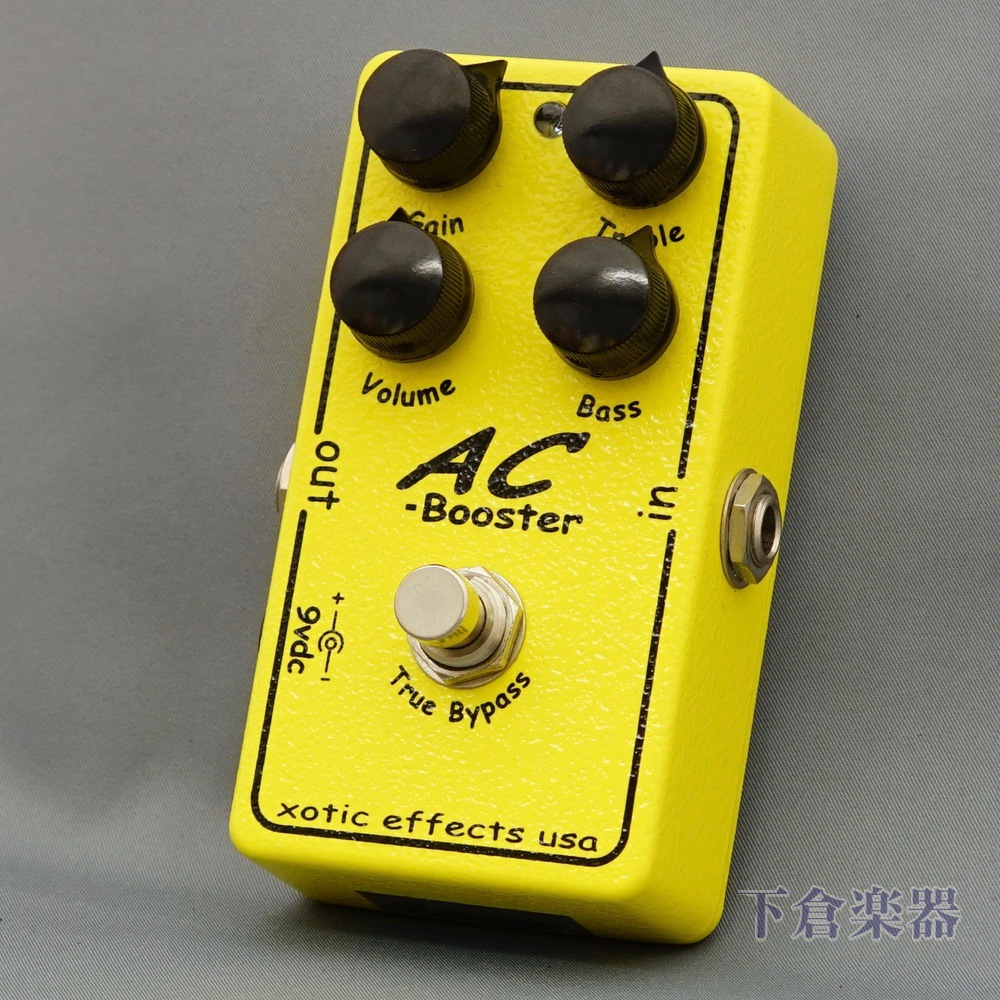 Xotic ACBooster(エキゾチック AC-Booster)