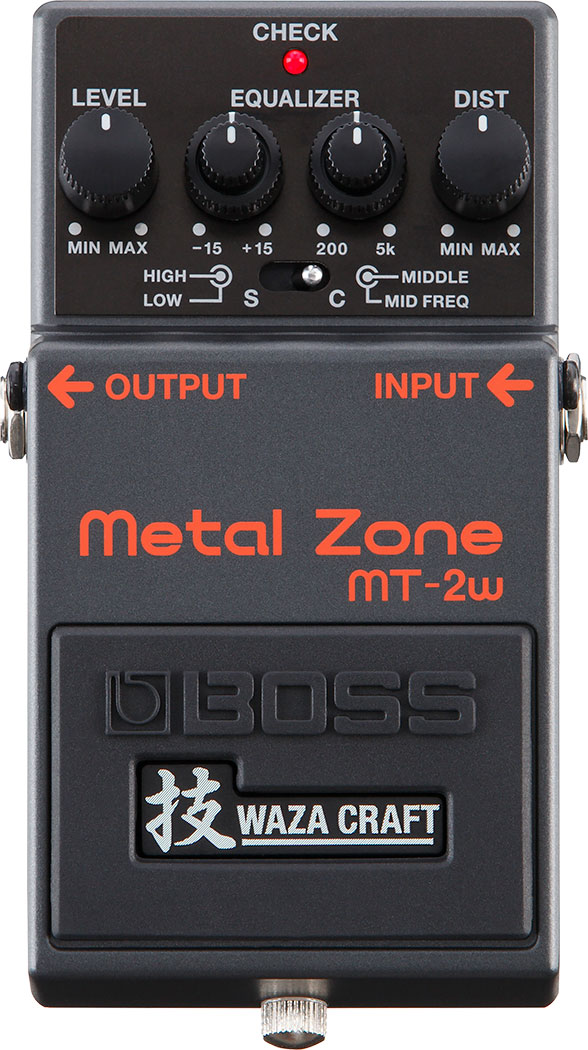 BOSS MT-2W Metal Zone技(ボス MT2W メタルゾーン技)
