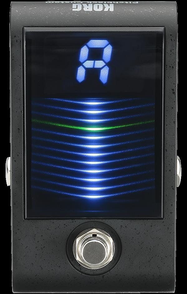 KORG 3Dビジュアル・メーター型ペダルチューナー PB-CS pitchblack Custom