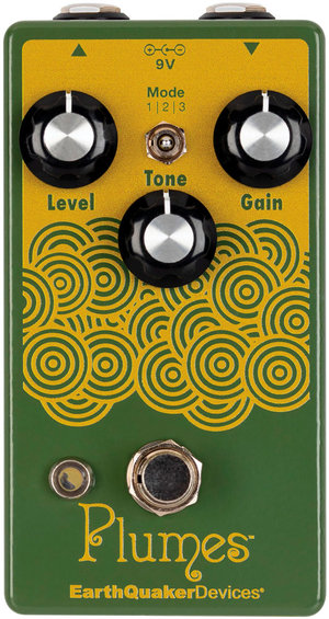 earthquaker devices Plume OverDrive(EQD アースクエイカーデバイス プルームス)