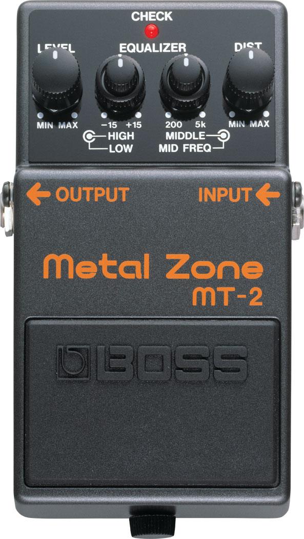 ファッション通販 安心と信頼 極限の歪みを求めるアナタへ BOSS Metal Zone MT-2