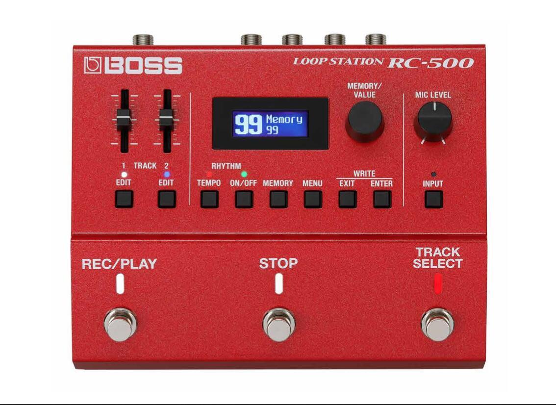 ループステーション BOSS 定番 Loop お買い得品 Station RC500 ボス RC-500