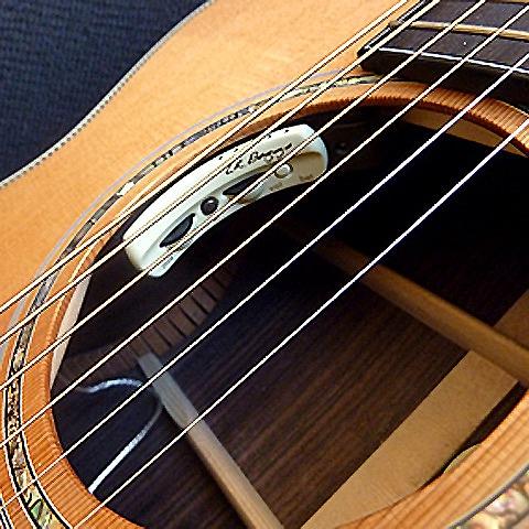 ピエゾ+コンデンサーマイクのデュアルシステム アコースティックギター用P.U ANTHEM 格安店 セール特価品 L.R.Baggs