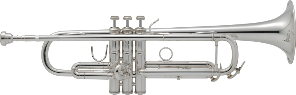 BbトランペットV.BACH VINCENT SP音色と吹き心地のバランスを追及したモデル。