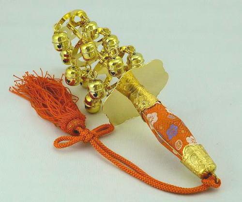 三番叟鈴(上)【踊り用小道具】【送料無料】【日本舞踊】