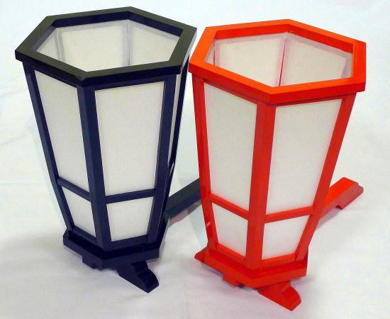 手燭(てしょく)2色からお選び下さい。【踊り用小道具】