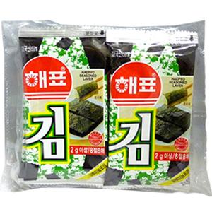 韓国海苔 お弁当用 へピョお弁当用のり 10個入り 至高 大人気 韓国食材