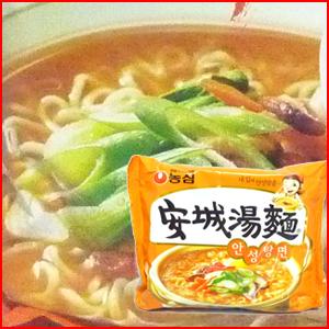 韓国食品 40%OFFの激安セール 韓国ラーメン 農心安城湯麺 出色 アンソンタンメン