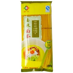 【干冷麺】 とうもろこし麺(細)-3人前 【温麺】