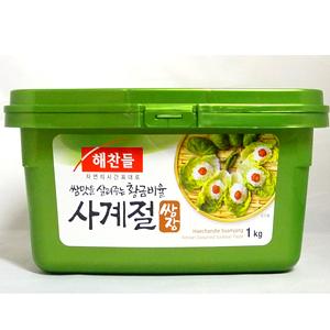 開催中 韓国味噌 即納送料無料 韓国食材 へチャンドル サムジャン 味付け味噌 -1kg