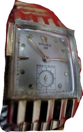 【送料・代引き手数料無料】腕時計 グリュエン(GRUEN) O.H済み 手巻  珍しいケースデザイングリュエン 男女兼用  【送料・代引き手数料無料】