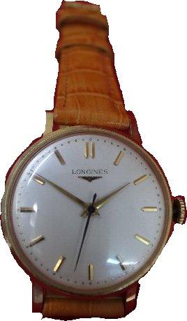 【送料・代引き手数料無料】腕時計 LONGINES・ロンジン 丸型 手巻き (OH)分解掃除済 メンズ 141206【送料・代引き手数料無料】